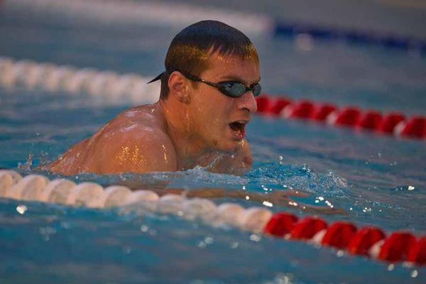 Le nageur paralympique dijonnais Charles Rozoy