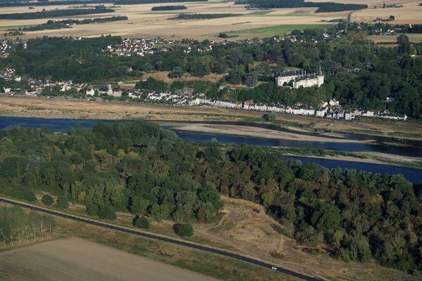 Un paysage du Loir-et-Cher, à Chaumont-sur-Loire. Image d'illustration.