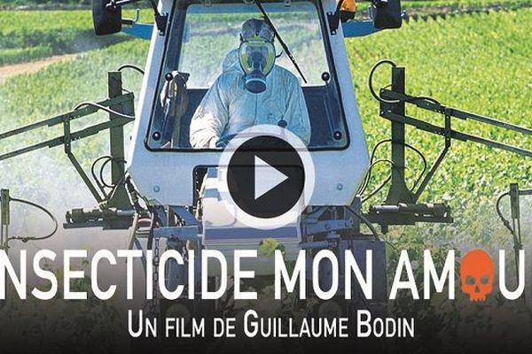 """L'affiche du film """"Insecticides mon amour"""" de Guillaume Bodin"""