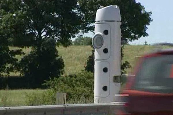 Un drôle d'engin...que les routiers ne vont sûrement pas trouver très marrant.