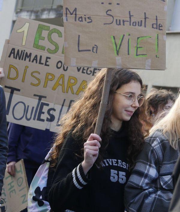 """Le groupe local """"Youth for Climate"""" s'est formé en Lozère en mars dernier, lors de la première grève mondiale pour le climat."""