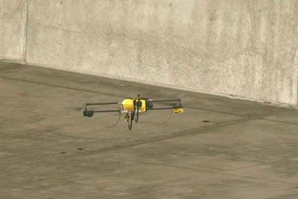 4 jours de tests pour AEDES, le drone de la SNF