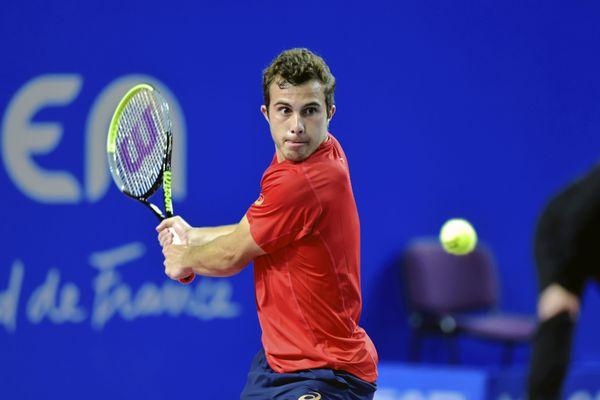 Hugo Gaston est actuellement classé 239e au classement ATP.