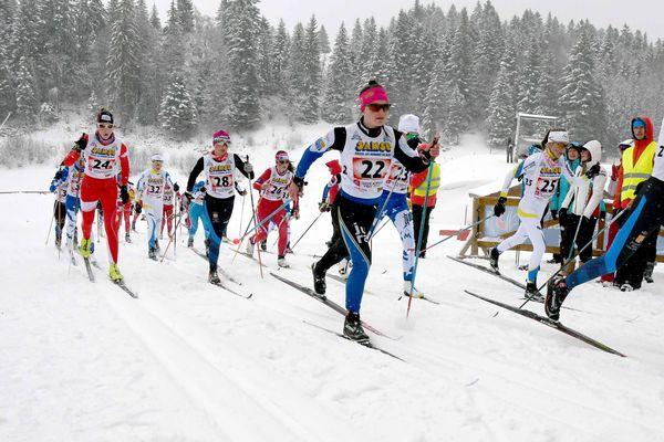 Le stade des Tuffes de Prémanon avait accueilli les Championnats de France de ski nordique en avril.