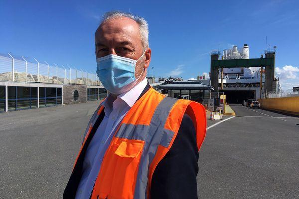 Christophe Mathieu, Directeur général de la Brittany Ferries, catastrophé par la décision britannique