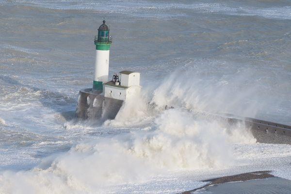 La tempête Eleanor avait déjà frappé les côtes de la Manche début janvier.