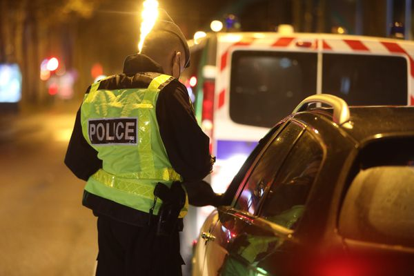La police va contrôler le respect du couvre-feu à partir de 20h dans le Centre-Val de Loire. Photo d'illustration