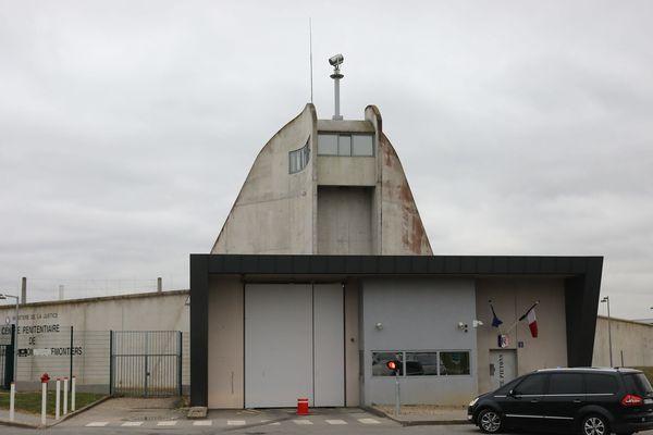 Le centre pénitentiaire de Meaux, en Seine-et-Marne.