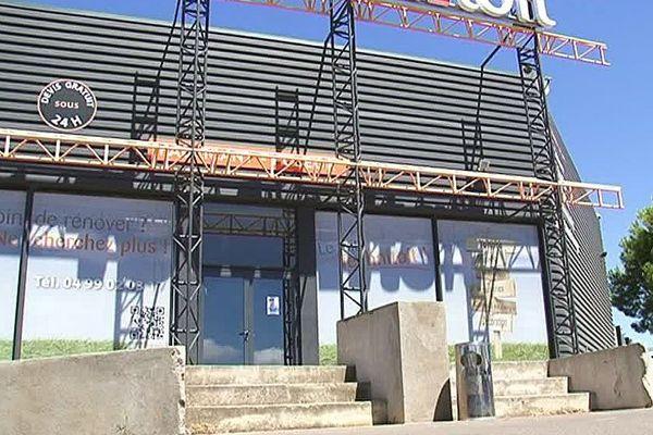 Gigean (Hérault) - l'entreprise Technitoit - juillet 2016.
