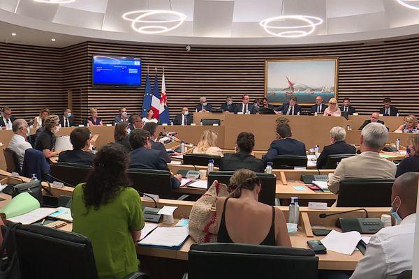 Le Conseil municipal de Nice, le vendredi 31 juillet