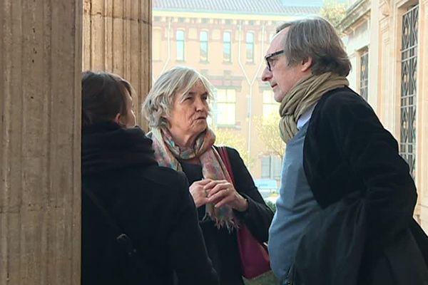 Jean-François Leroy directeur de Visa pour l'image était présent mercredi au tribunal de Perpignan pour soutenir David Sauveur et sa famille