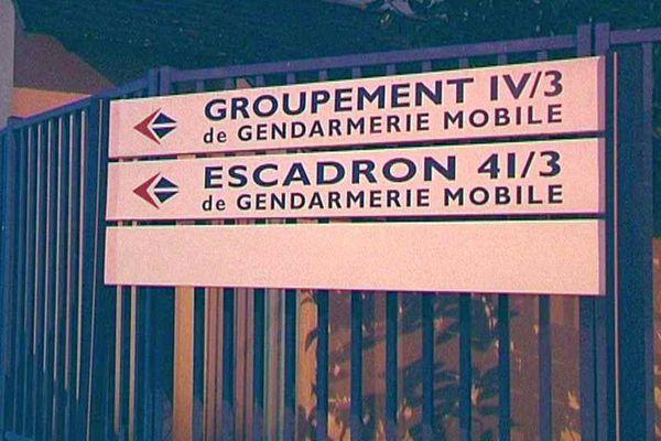 La gendarmerie départementale était visée