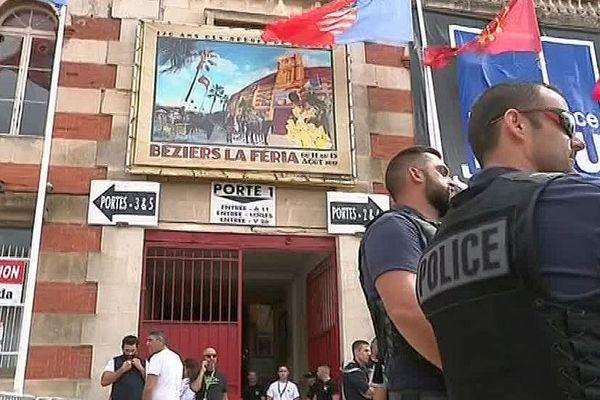 Béziers (Hérault) - la sécurité de la traditionnelle feria qui attend 700.000 visiteurs - archives