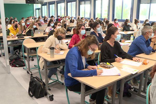 Chaque année 90 élèves infirmiers et 60 élèves aide-soignants commencent leurs études à Périgueux