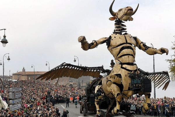 La ville a rajouté l'événement ''Le réveil du Minotaure'' dans sa campagne de promotion