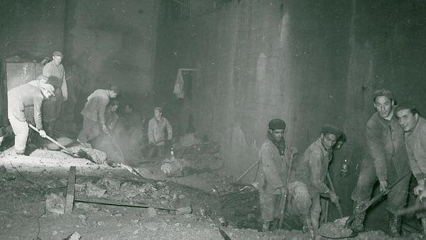 Le tunnel de la centrale hydraulique creusé il y a 70 ans