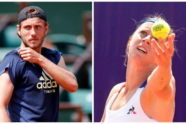 Lucas Pouille et Pauline Parmentier figurent parmi les premiers à s'élancer sur la terre battue de Roland-Garros.