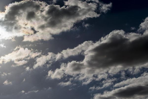 Le ciel est variable avec un risque d'ondée