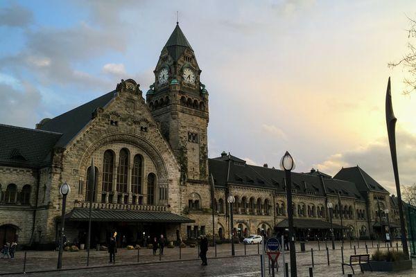 La gare de Metz a été élue plus belle gare de France ce 21 décembre 2018. Comme en 2017.