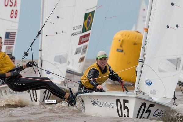 Camille Lecointre et Hélène Defrance sont Championnes du Monde en 470 femmes