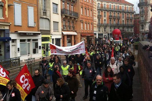 Environ 3000 manifestants à Toulouse