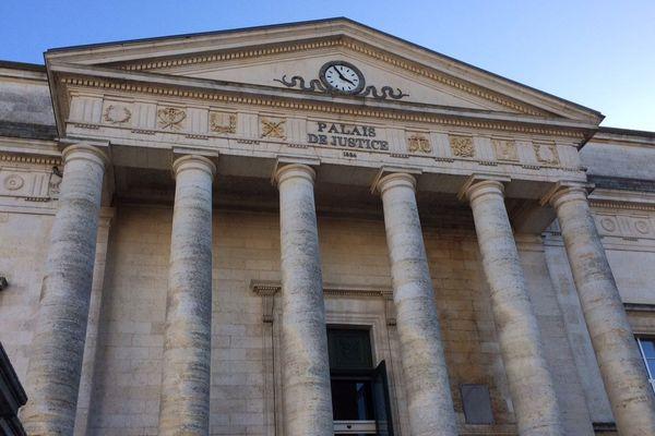 Le palais de justice d'Angoulême.