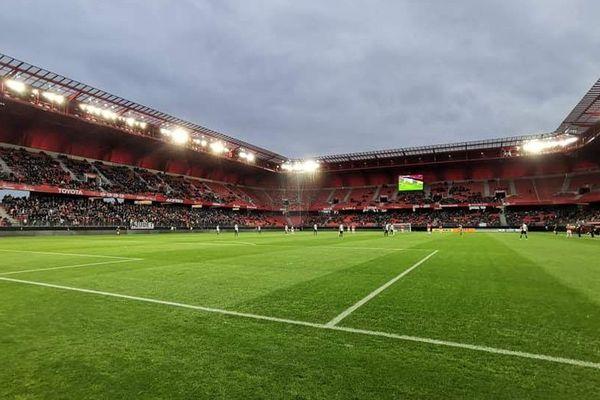 Le stade du Hainaut à Valenciennes