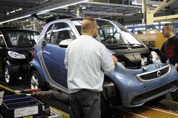 La direction de Mercedes prévoit la fabrication de la Smart électrique jusqu'en 2022-2024 seulement à Hambach l'avenir est incertain