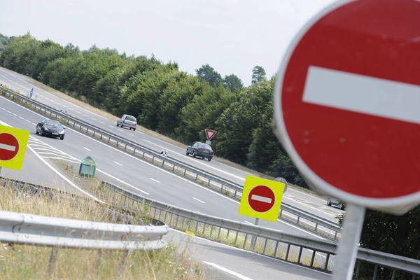 249 panneaux de signalisation et 70 balises seront installés sur les voies rapides haut-rhinoises pour lutter contre la conduite à contresens.