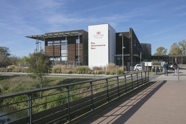 Le projet de cyber range de l'Iriaf est installé au sein du pôle universitaire de Niort.