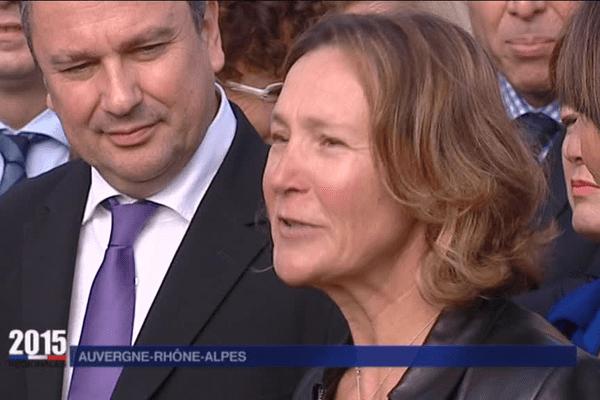 Carole Montillet, ex-championne de ski, entrée en politique avec les régionales -