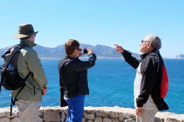 Max, greeter marseillais aime faire découvrir les beautés de sa ville aux touristes