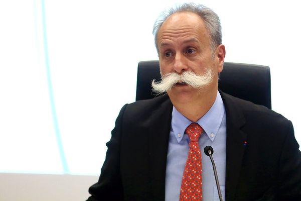 Bernard Stalter, président de la Chambre régionale de métiers et de l'artisanat, à Metz en novembre 2016.