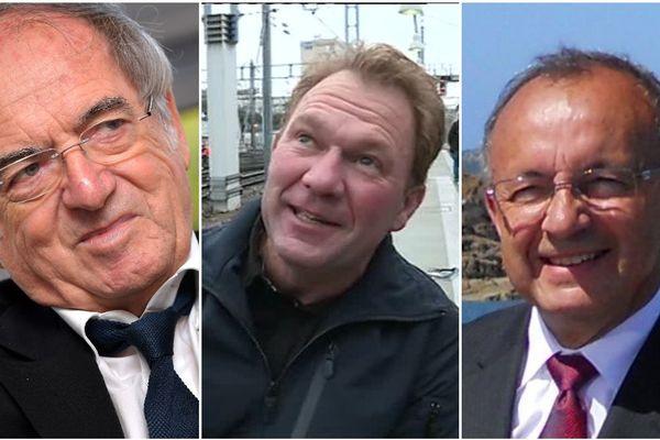 Noël Le Graët, Yannick Jondot, Joël Le Jeune, trois Bretons distingués par la Légion d'honneur