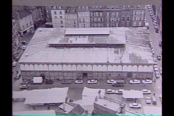 Photo d'archive des halles centrales