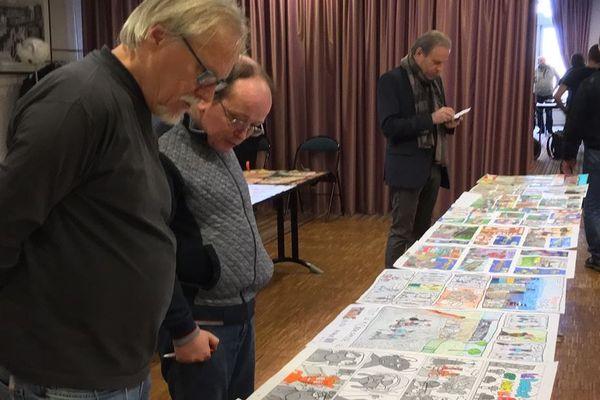 Le dessinateur Franck Margerin est le président du jury Hippocampe.