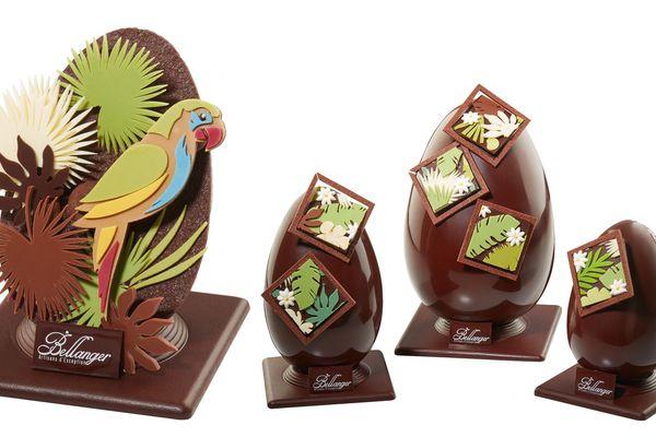 Les chocolats de Pâques représentent près de 30 % du chiffre d'affaires de la chocolaterie mancelle Bellanger.