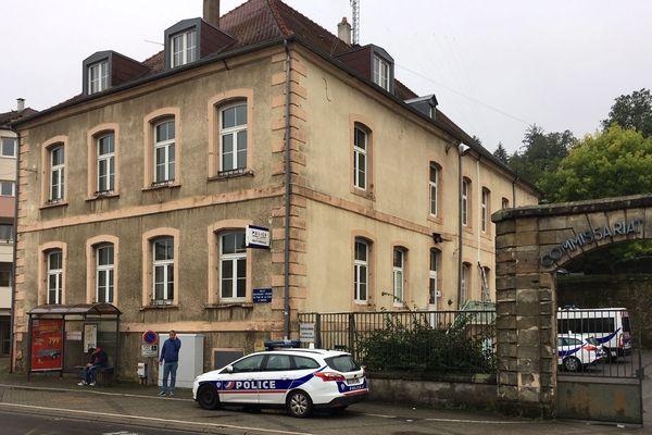 Le commissariat de police nationale de Saint-Avold.