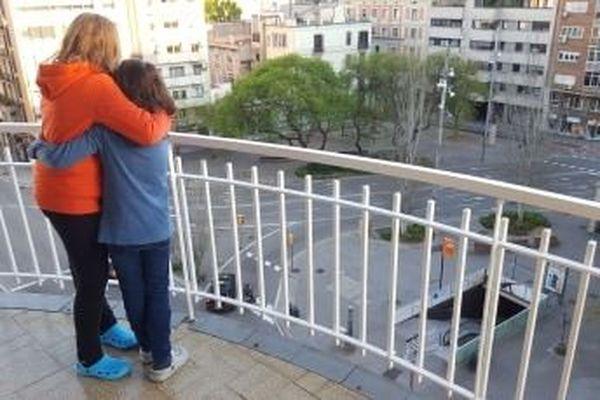 Barcelone, Mireia et sa soeur Berta sont impatientes de se dégourdir les jambes