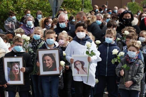 Une marche blanche en hommage à Audrey Adam avait été organisé le 22 mai dernier dans son village de Mergey (Aube).