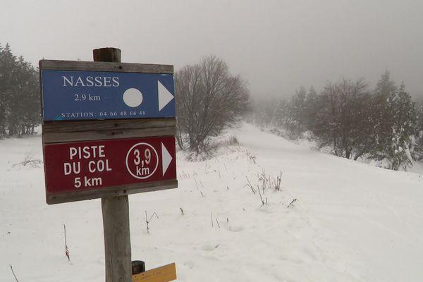 Bien que présente, la neige se fait de plus en plus rare l'hiver