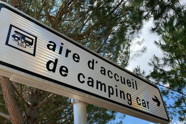 Pour l'instant, les campings et aires d'accueil ne sont pas débordées par les demandes