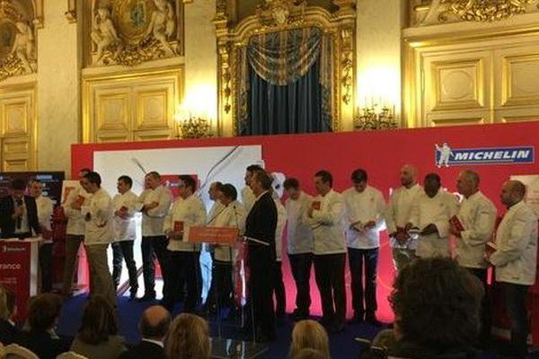 Les nouveaux étoilés au quai d'Orsay dont Pascal Sanchez restaurant Mia à Montpellier