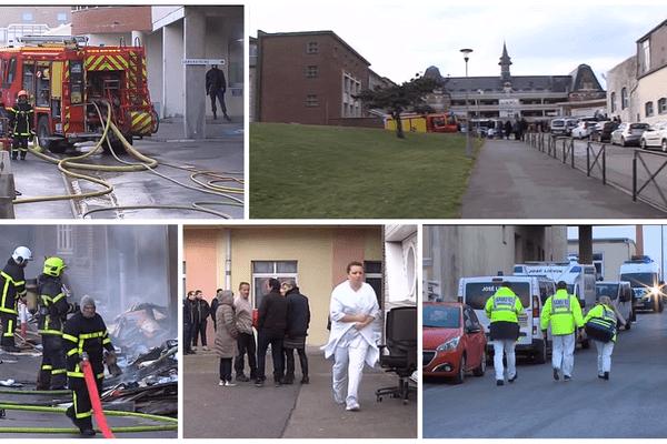 L'ensemble du personnel et des patients ont été évacués vendredi.
