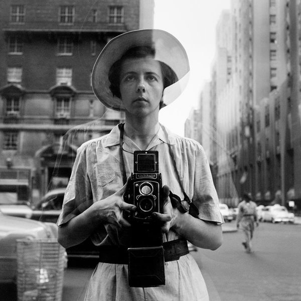Autoportrait de Vivian Maier, non daté.
