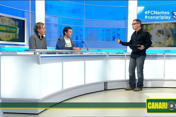Anthony Brulez était en compagnie d'Etienne Kiss de Presse Océan et de Charles Guyard de Sun FM.