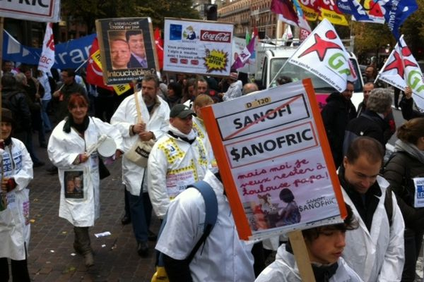 Les salariés de Sanofi en lutte depuis 7 mois pour préserver leurs emplois