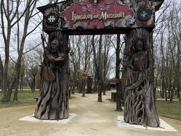 La porte du bois... et du Muscadet