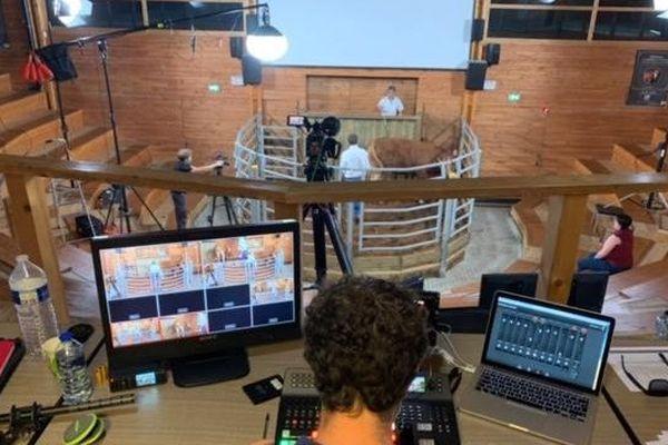 Réalisation d'un clip vidéo pour vente aux enchères virtuelles du Pôle de Lanaud