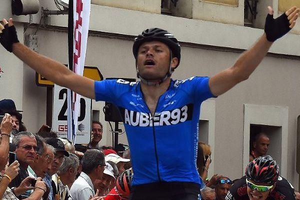 Steven Tronet, déjà vainqueur, 10 jours plus tôt, sur la Route du Sud.